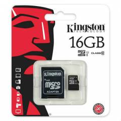 KINGSTON  16GB CLASS 10 MICRO SD HAFIZA KARTI