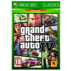 GRAND THEFT AUTO IV  GTA 4 XBOX 360 PAL SIFIR