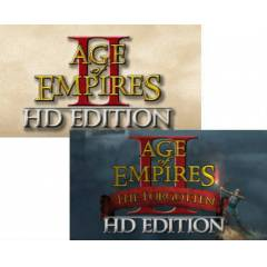 AGE OF EMPIRES II 2 HD + THE FORGOTTEN STEAM KEY