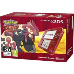 Nintendo 2DS RED POKEMON OMEGA RUBY EDITION PAL