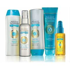 AVON A.T ARGAN YA�LI BE�L� SA� BAKIM SET�
