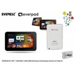 �ift Kamera Parlak Beyaz Android 4.1.1 Tablet Pc