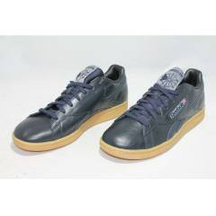 REEBOK NPC UK NAVY LEATHER MEN SHOES