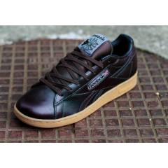 REEBOK NPC UK Brown LEATHER MEN SHOES