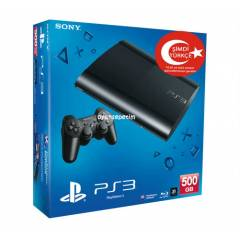 Sony Playstation 3 500 gb Super Slim Oyun Konsol