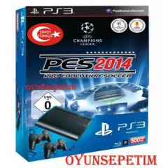 Sony Playstation 3 500 gb + PES 2014+2.KOL+HDMI