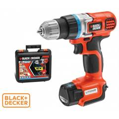 Black Decker EGBL108K Li-on 10.8V �arjl� Matkap