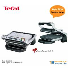Tefal OptiGrill Ak�ll� Izgara ve Tost Makinesi