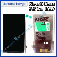 Galaxy Note 3 Kore 5.5 inc LCD Ekran (Replika)
