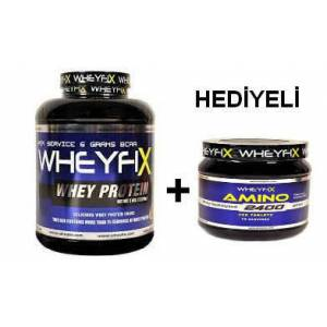 WHEYFIX Whey Protein 2270 Gr + AM�NO 280 TABLET