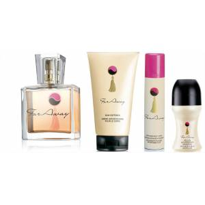AVON FAR AWAY EDP 30ML BAYAN 4'L� SET KARGOSUZ