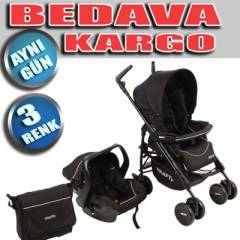 Kraft Capri L�ks Travel Sistem Bebek Arabas�