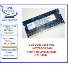 1 GB DDR3 1333 MHZ NOTEBOOK RAM OEM