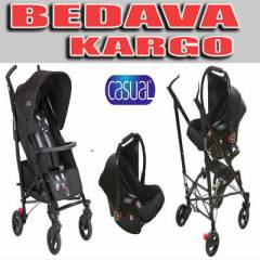 Casual Storm Travel Bebek Arabas� - Puset BLACK