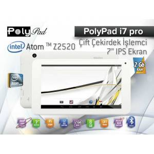 Poly Pad i7 Pro intel 2GB DDR3 8GB Tablet PC