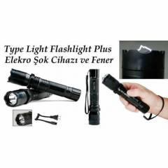 Type Light Flashlight Plus Elekro �ok Cihaz�