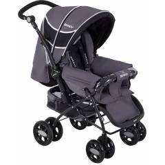 Beneto BT-655 Black �ift Y�nl� Bebek Arabas� New