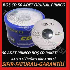 PRINCO CD-R 50 ADET 700 MB BO� CD 50 ADET 700 MB