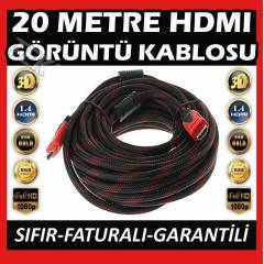 20 METRE HDMI TV G�R�NT� KABLOSU FULL HD 1.4V 3D