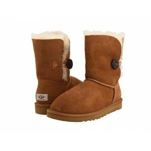 UGG Bot - Bailey Button Chestnut
