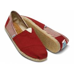 TOMS Red University Mens Classics 001019A09RED