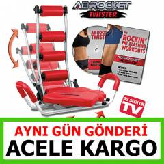 Ab Rocket Twister Mekik Aleti Yeni Model 2015
