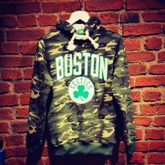 NBA ED�T�ON! BOSTON CELT�CS HOOD�E SWEATSH�RT