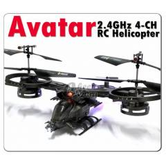 AVATAR 2.4GHz 4 Kanal RC Helikopter