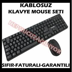 B�LG�SAYAR PC KABLOSUZ W�RELESS KLAVYE MOUSE SET
