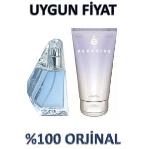 AVON PERCE�VE BAYAN EDP 50 ML VE V�CUT LOSYONU
