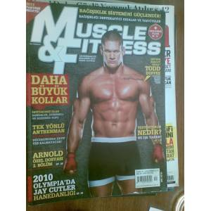 MUSCLE & FITNESS OCAK 2011 TODD DUFFEE
