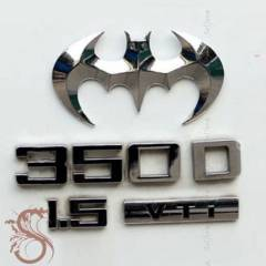 SERT METAL BATMAN OTOMOB�L STICKERI CS025