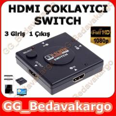 HDMI SWiTCH �OKLAYICI �O�ALTICI SPL�TTER 3 PORT