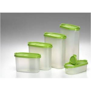 TUPPERWARE  OVAL SET YE��L �OK F�YAT