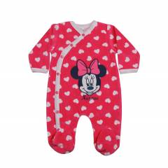 Disney Minnie Mouse Patikli Kadife Tulum Pembe