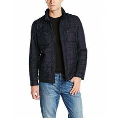 Tommy Hilfiger Men's 2 Pocket Quilted Mont
