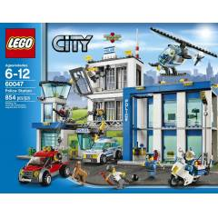 Lego City 60047 Police Station 854 par�a