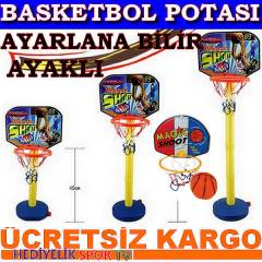 AYARLANIR AYAKLI BASKETBOL POTASI BASKET POTASI