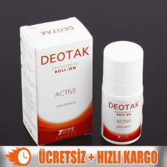 +Deotak Unısex Active Deodorant Roll-On 35ml