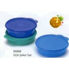 Tupperware �eker Kaplar 3 l� Set