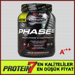 Muscletech Phase 8 - Protein Tozu - 2100 Gram