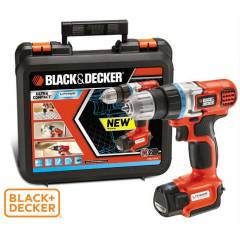 Black Decker EGBL-108KB 10.8V LiOn �arjl� Matkap