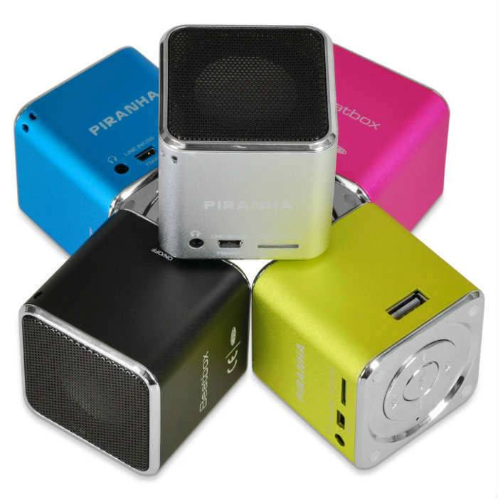 Piranha beat box fm radyo usb micro sd mp3 çalar