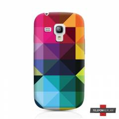 Samsung Galaxy S3 Mini i8190 Colorful K�l�f