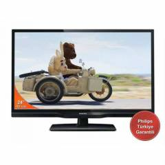 Philips 24phh4109 61 ekran 100 hz led tv usb li