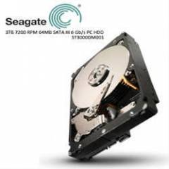 SEAGATE 3.5 3TB 7200 RPM 64MB SATA3 6 Gb/s PC HD