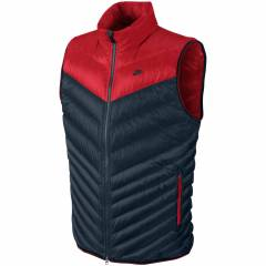 NIKE CASCADE DOWN VEST 700 NAVY-RED MEN