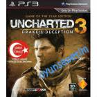 UNCHARTED 3 DRAKE'S DECEPTION GAME OFTHE YEAR TR