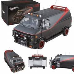 A-Team Hot Wheels 1/18 1982 GMC Van A Tak�m� Ara