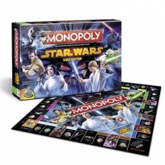 Star Wars Saga Edition Monopoly Saga Edition (in